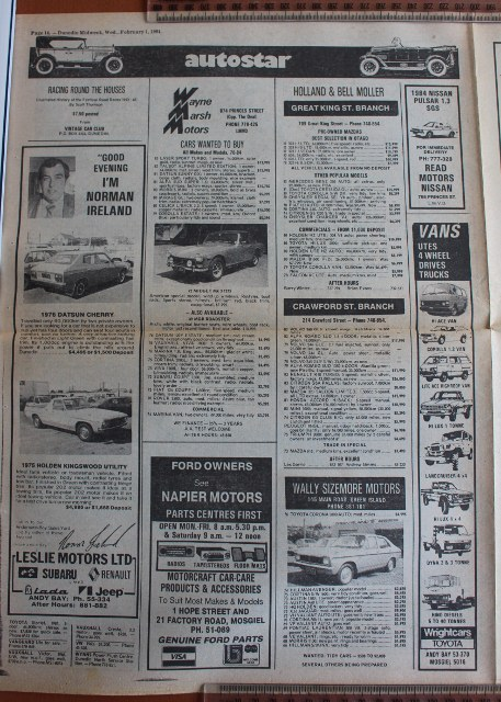 Name:  Motoring Books #244 Dunedin Weekly 1 Feb 84 car ads 1 2019_10_16_1074 (457x640).jpg
