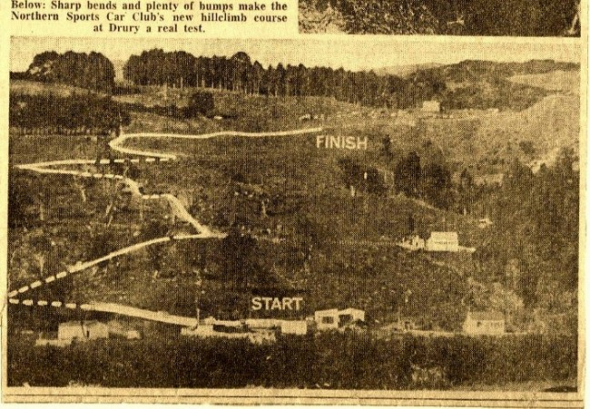 Name:  NSCC #117 Cosseys Hill climb article 1967 # The track.jpg