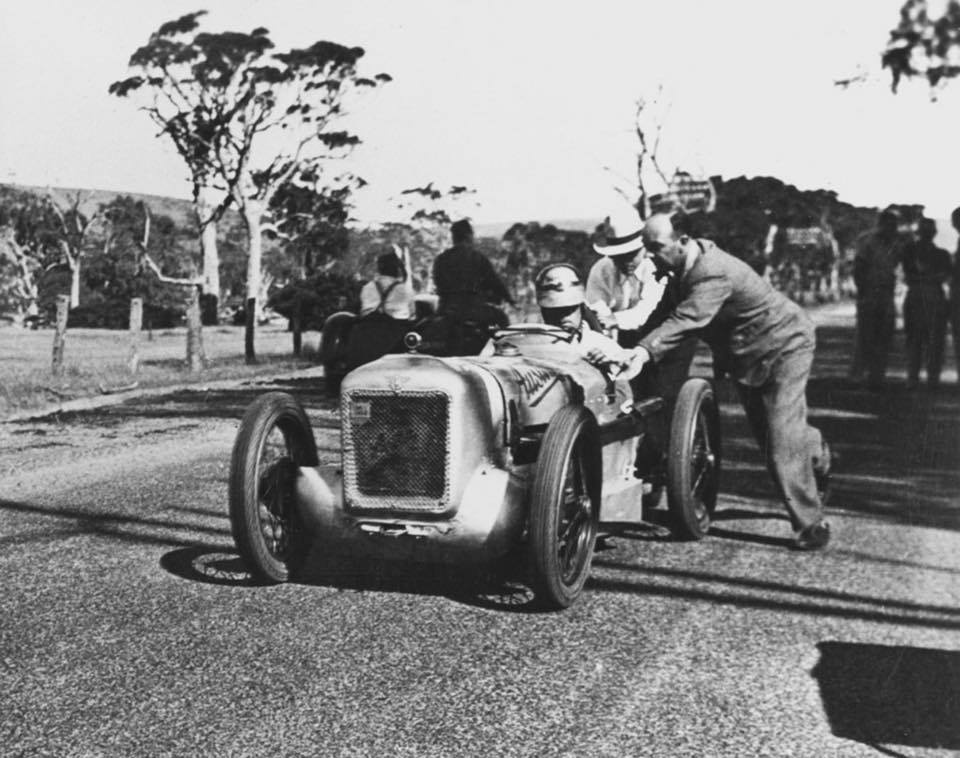 Name:  Austin Seven #23 George Smith Rubber Duck XA1012 1936 Australian GP carnival Victor Harbor, SA T.jpg
