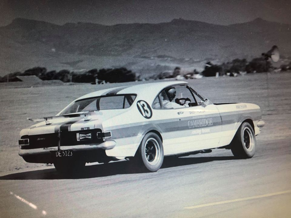 Name:  Cars #446 Grady Thompson Team Cambridge Monaro Wigram 1970 rear Bill Pottinger .jpg