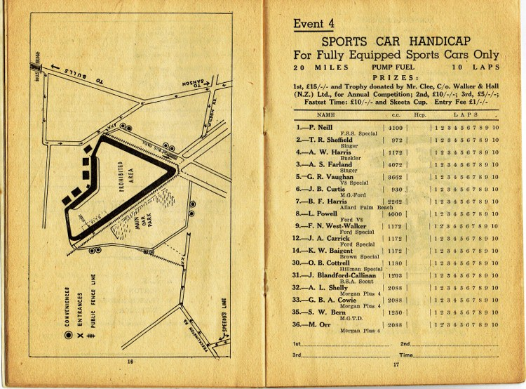 Name:  Ohakea 1954 #166 1954 Trophy Races Track Map Event 4 Sports Car Hcp P16-17 B Dyer CCI29072020_00.jpg