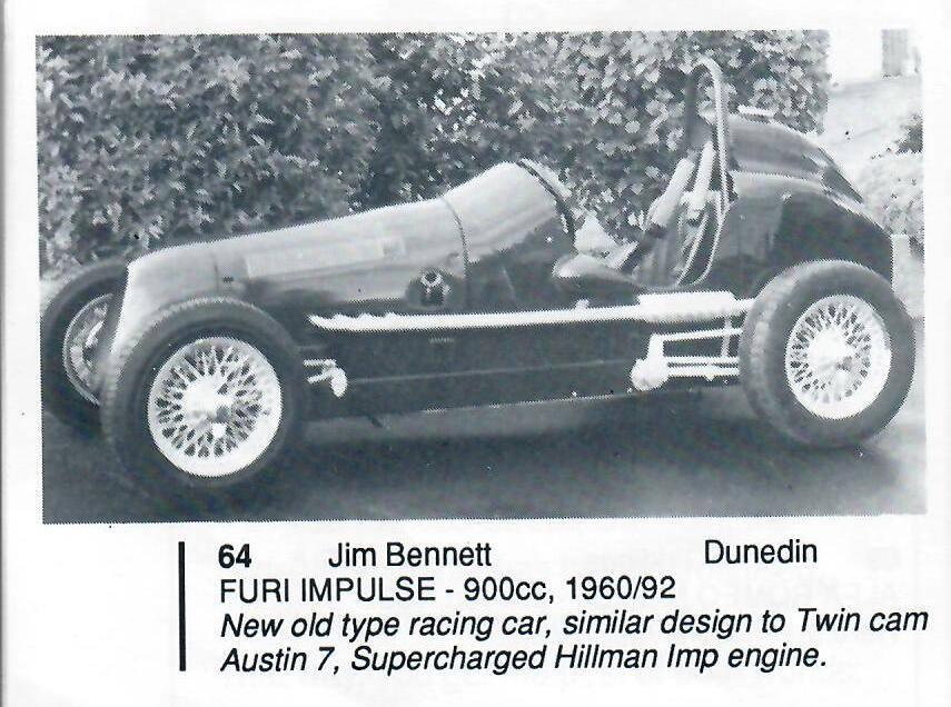 Name:  Jim Bennett Furi Cars #81 Furi 9 1993 entry in programme Jim Bennett archives .jpg Views: 500 Size:  91.5 KB