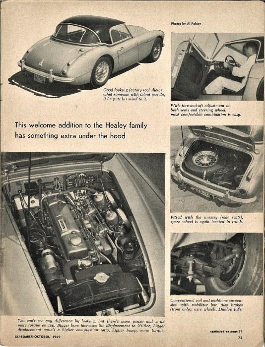 Name:  Motoring Books #262 SCG 1959 1959 Healey 3000 test 2 photos TRS Ken Hyndman (527x700).jpg Views: 55 Size:  182.9 KB