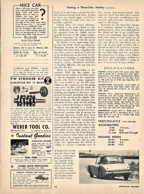 Name:  Motoring Books #263 SCG 1959 1959 Healey 3000 test 3 photos TRS Ken Hyndman (527x700).jpg Views: 51 Size:  177.4 KB