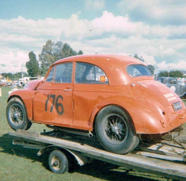 Name:  Matamata 1965 #32 1965 Morrari Garth Souness on trailer Glen Kirk .jpg Views: 283 Size:  56.7 KB