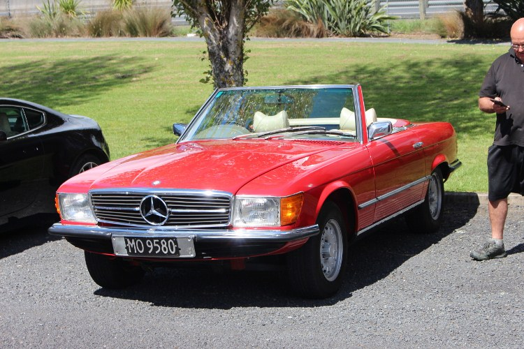 Name:  C and C 2020 #366 Mercedes 350SL J Bennoch Oct 2020_10_24_1935 (750x500).jpg Views: 57 Size:  157.1 KB