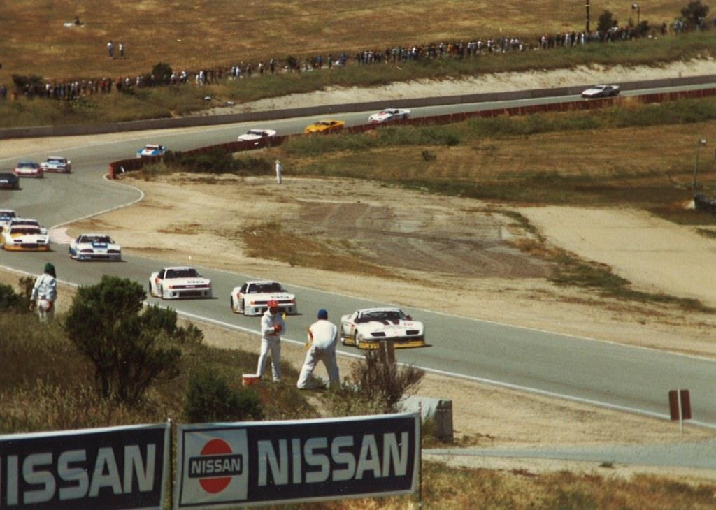 Name:  Laguna Seca 1987. GTO field on warm up lap.jpg Views: 1181 Size:  105.0 KB