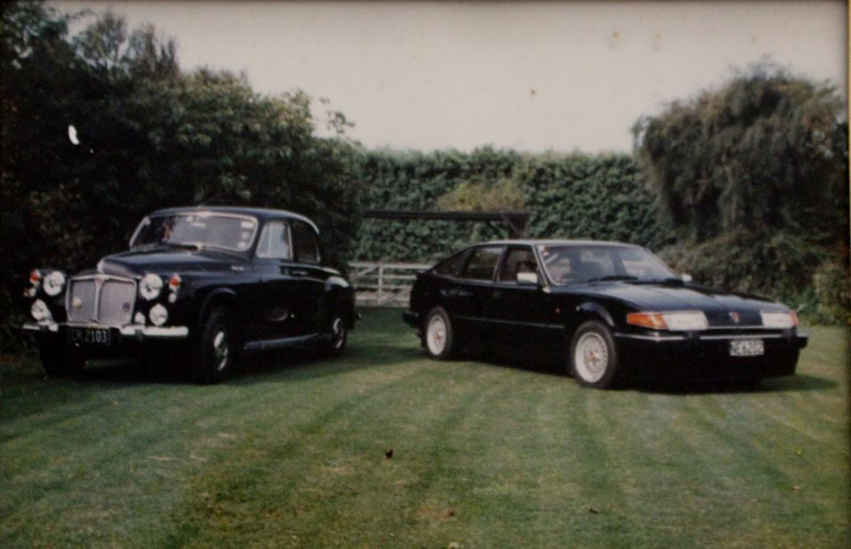 Name:  Rover SD1 Vitesse #2 and P4 - Ed's car current owner Edward Winchester Mar 2108 .jpg Views: 134 Size:  70.7 KB