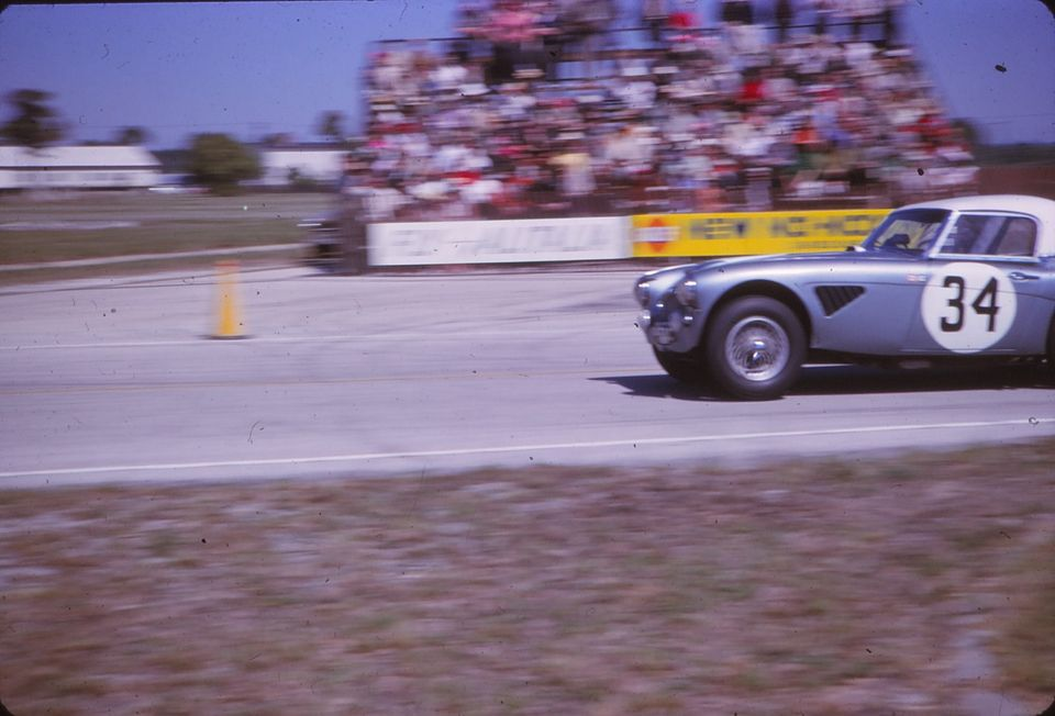 Name:  AH 3000 #364 Sebring 1964 Cars #33 and #34 . car #34 just K Stelk archives .jpg