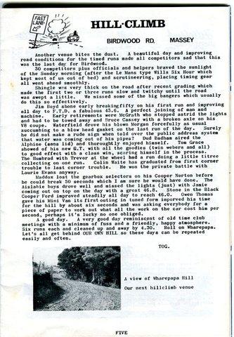 Name:  NSCC #247 1964 ! Birdwood Rd last  Hill Climb new venue Wharepapa Bob Homewood.jpg Views: 44 Size:  67.6 KB