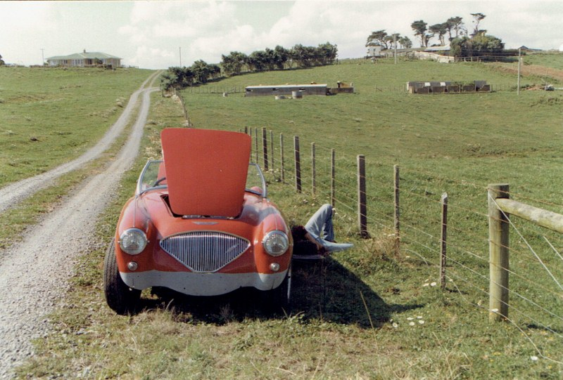 Name:  AHCCNZ Otaua Hill Climb #8 My Healey near a Marshall Flag point   CCI25112015_0002 (800x541).jpg