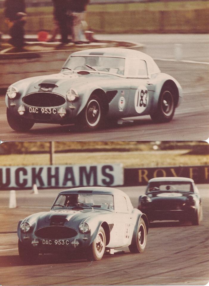 Name:  AH 3000 #88 Joe Armour BJ8 Sebring 1965 in UK double pic J Armour 03062019.jpg Views: 119 Size:  161.3 KB