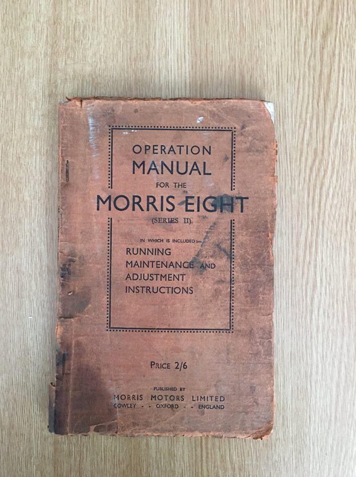Name:  Cars #137 Morris Eight manual cover - for sale 06032019 Pete Dicks .jpg Views: 451 Size:  131.2 KB