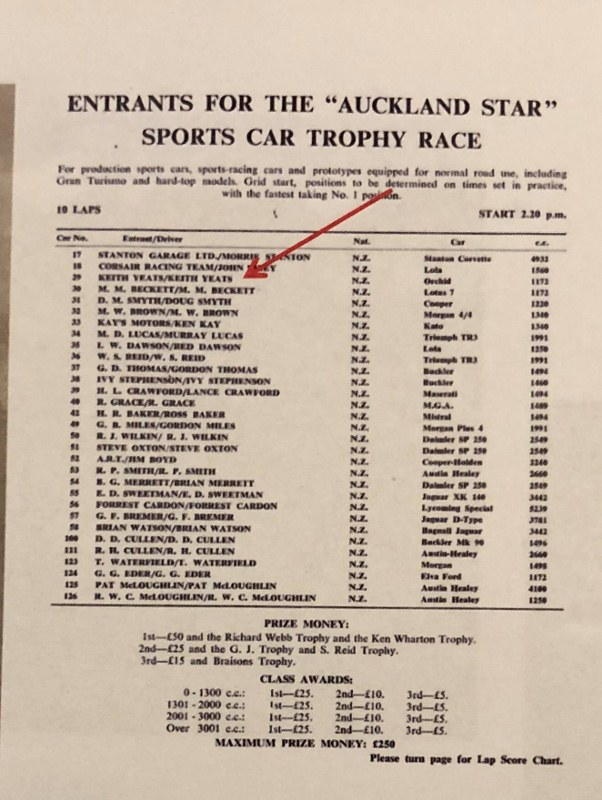 Name:  NSCC 1966 #121 Orchid Special Events Pukekohe Entry Lists 1 - 4 = 1 Richard Sandman (602x800).jpg Views: 240 Size:  135.0 KB