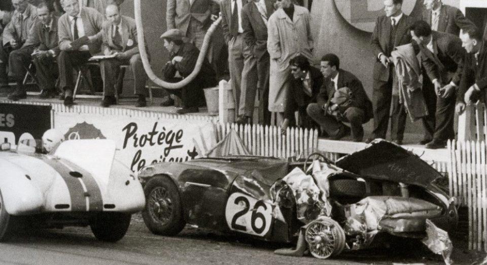 Name:  AH 100S #78 NOJ393 Works car Le Mans 1955 L Macklin and Cunningham Allan Dick archives .jpg Views: 140 Size:  98.0 KB
