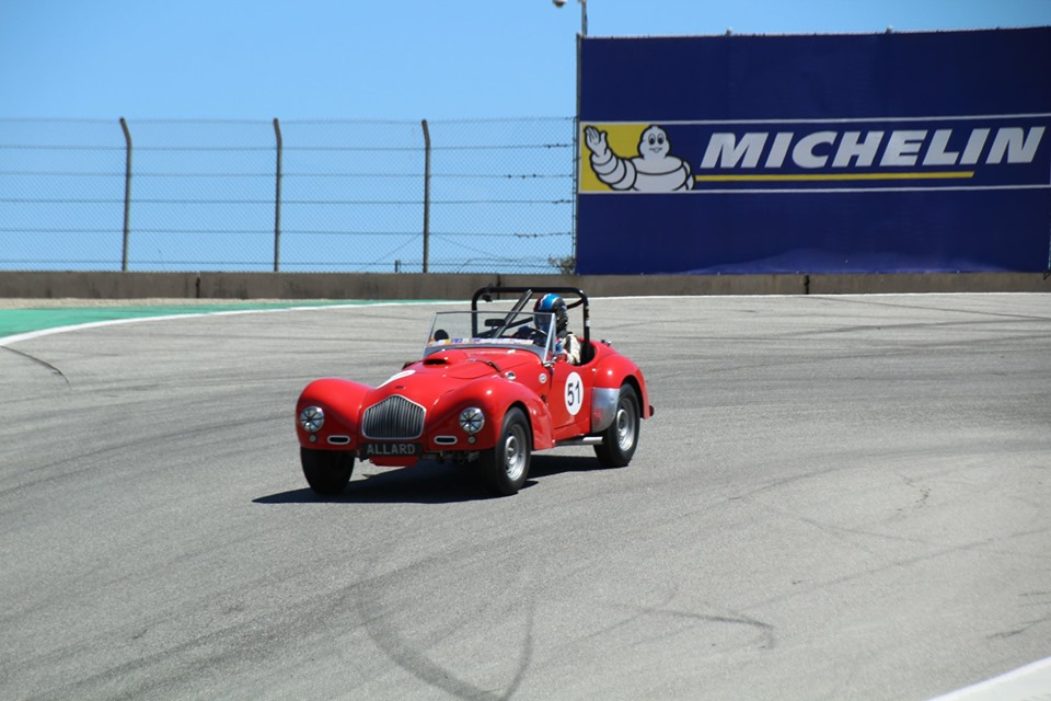 Name:  Monterey 2019 #41 Allard - at the track Terry Cowan .jpg