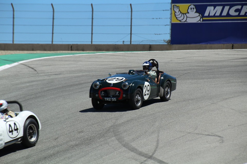 Name:  Monterey 2019 #43 Triumph TR2 - at the track Terry Cowan .jpg