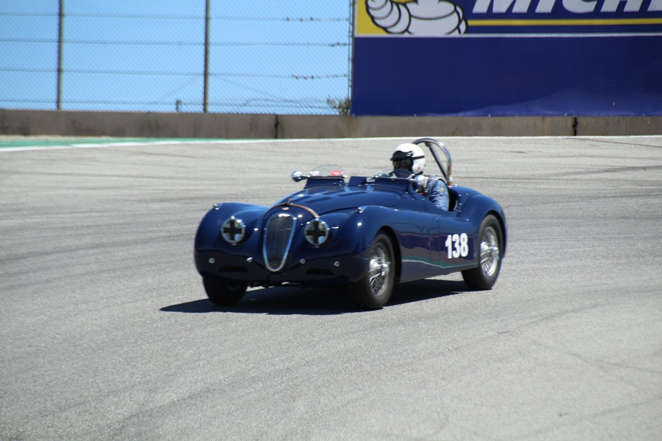 Name:  Monterey 2019 #42 Jaguar XK 120 - at the track Terry Cowan .jpg