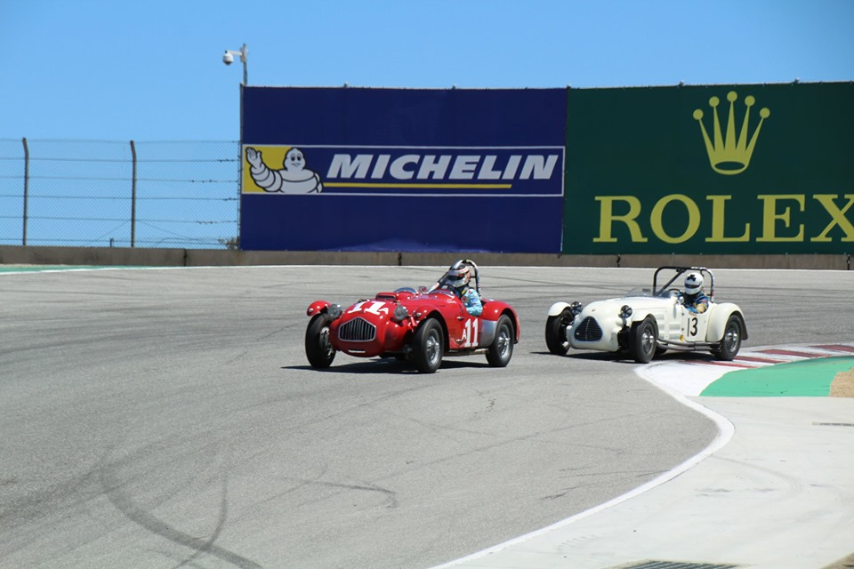 Name:  Monterey 2019 #47 Allard and Q ! - at the track Terry Cowan .jpg