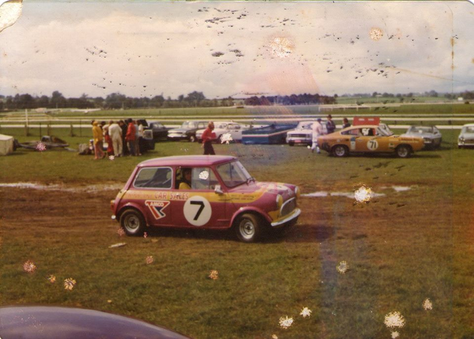 Name:  Pukekohe 1973 #51 Mini 7 Derek Haynes 1976 Martin Haynes .jpg Views: 115 Size:  105.3 KB